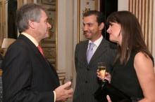 Ambassador Westmacott, Boris and Rocio Hirmas